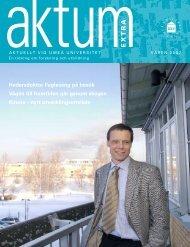 Aktum nr 2 (Extra) - Umeå universitet