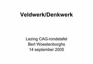 Veldwerk/Denkwerk