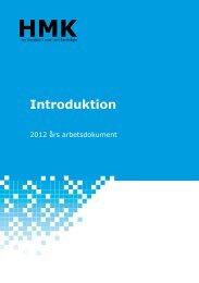 HMK Introduktion 2012 års arbetsdokument - Lantmäteriet