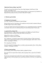 Mødereferat Darenca fredag 1 marts 2013 Til stede: Lars ... - DUCG