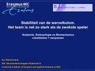 Presentatie Prof. dr. Gert-Jan Kleinrensink lezing 1 - RGF Groot Gelre