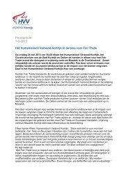 Persbericht 7-5-2013