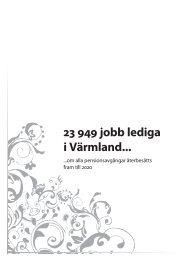 23 949 jobb lediga i Värmland... - Region Värmland