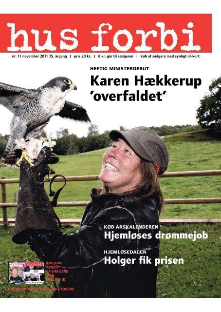 Karen Hækkerup 'overfaldet' - Hus Forbi