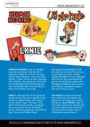 Herman Hedning, Uti Vår Hage, Ernie & Humorklassiker