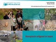 Kempisch erfgoed in kaart - (SAM) Limburg