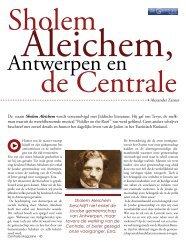 Sholem Aleichem en de Centrale by A. Zanzer