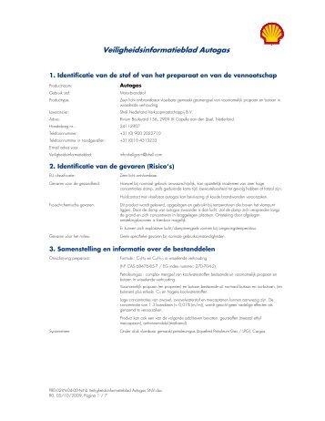 Veiligheidsinformatieblad Autogas - Hako