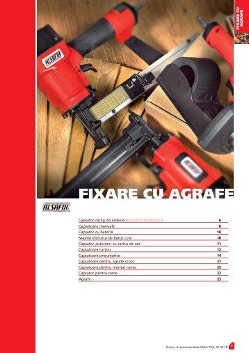 FIXARE CU AGRAFE - Tehno Plus