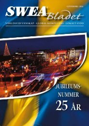 Jubileums- nummer - SWEA International