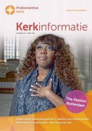 Kerkinformatie nr. 202, april 2012 - Protestantse Kerk in Nederland