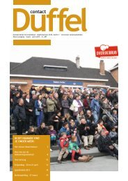 Editie maart-april 2013 - Gemeente Duffel