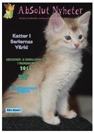 Nr 1/2011 - AbSolut Kattklubb