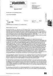 Collegebrief Toekomst toezicht en handhaving in de openbare