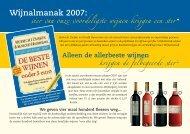 A5 Wijnalmanak - Winckeltje