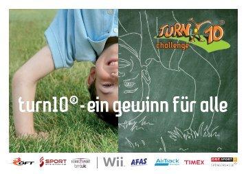 Broschüre für alle Lehrer/innen - Turn10