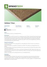 14 NL-SPANOTECH Hofatex Floor.pdf - Passiefhuis Platform
