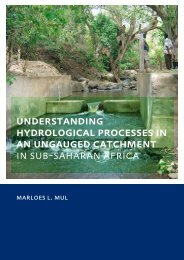Understanding Hydrological Processes in Ungauged ... - Hydrology.nl