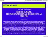 Radio Del Mare, reportage, Haagsche Courant, 1979 - Jacques Geluk