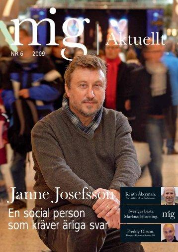 Janne Josefsson - MiG