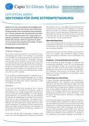 Verksamhetsblad Övre sektionen.pdf - Capio S:t Görans Sjukhus