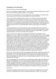 Vrouwelijke steun voor Mannendag Vera Claes wil de lat voor ... - SP.a