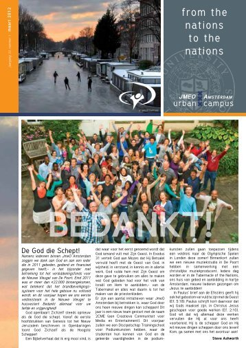 from the nations to the nations - YWAM Amsterdam