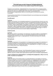 Prioriteringsvoorstel Integraal Veiligheidsbeleid - Gemeente Sint ...