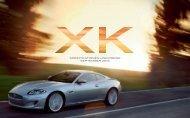 XK Ausstattungs- und Preisliste - bei Auto Sport Stopka