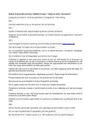 """Referat af generalforsamling i Støtteforeningen """" Hjælp de ældre i ..."""