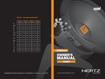 COMP - Relm Áudio Imports