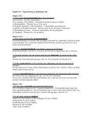 Kapitel 16 – Segmentering og målgruppevalg Opgave ... - Studie Guru