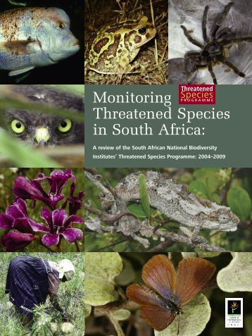 A review of the South African National Biodiversity Institutes - SANBI
