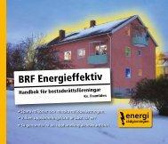 BRF Energieffektiv - Energirådgivningen