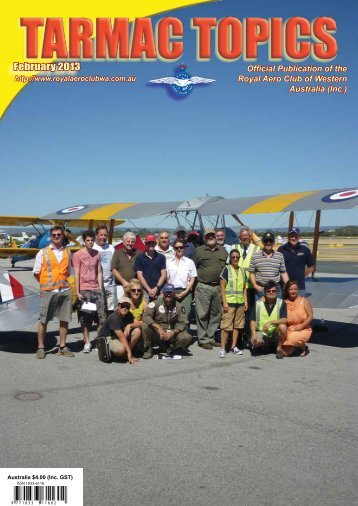 February 2013 - Royal Aero Club of Western Australia
