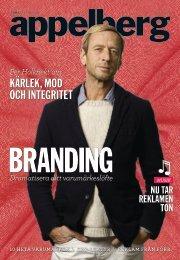KÄRLEK, MOD OCH INTEGRITET - Appelberg Publishing Group