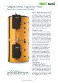 Rétegzett puffer Friss víz modul Rétegzett töltés ... - Liget Gatter Kft - Page 3