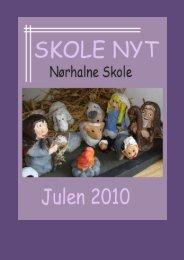Skolenyt julen 2010 - Nørhalne Skole