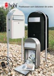 Postkassen som dekorerer din entre - R Bergersen AS