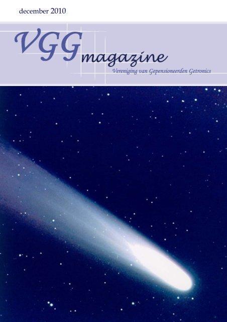 december 2010 - Vereniging Gepensioneerden Getronics