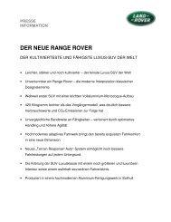 DER NEUE RANGE ROVER - Auto Stahl