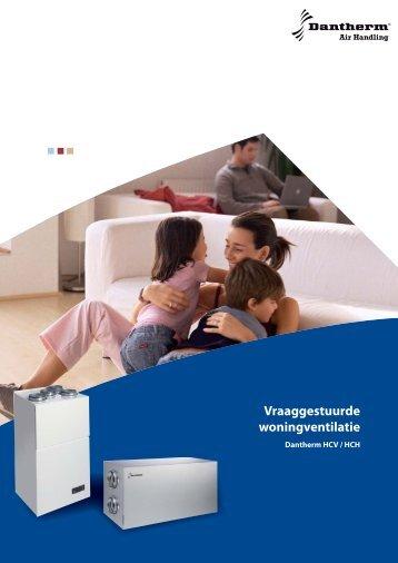 Brochure Dantherm HCV-HCH toestellen - Dantherm Woningventilatie