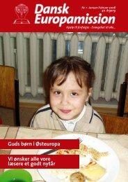 Guds børn i Østeuropa - Dansk Europamission