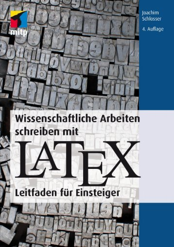 Warum LATEX? - Verlagsgruppe Hüthig Jehle Rehm GmbH