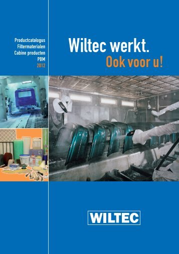 Catalogus cabineproducten - Wiltec