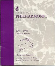 HHILHARMONIC - Federal Way Chorale