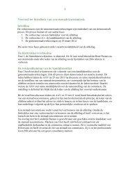 Voorstel tot installatie van een stemadviescommissie ... - D66 Almere