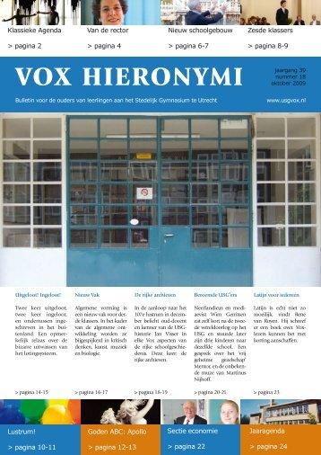 VOX Oktober 2009 - USG Vox