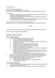 Nummer: 18-02-10/7 De raad der gemeente Hellevoetsluis; gehoord ...