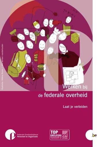 Werken bij de federale overheid - Selor